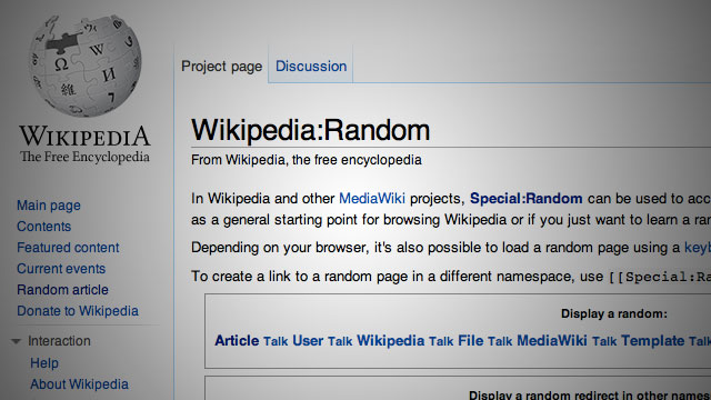 Wikipedia Random – Delayed Gratification Music